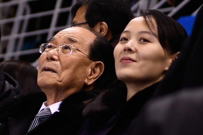 Ngon ngu co the cua em gai Kim Jong Un qua mat nguoi Han Quoc hinh anh