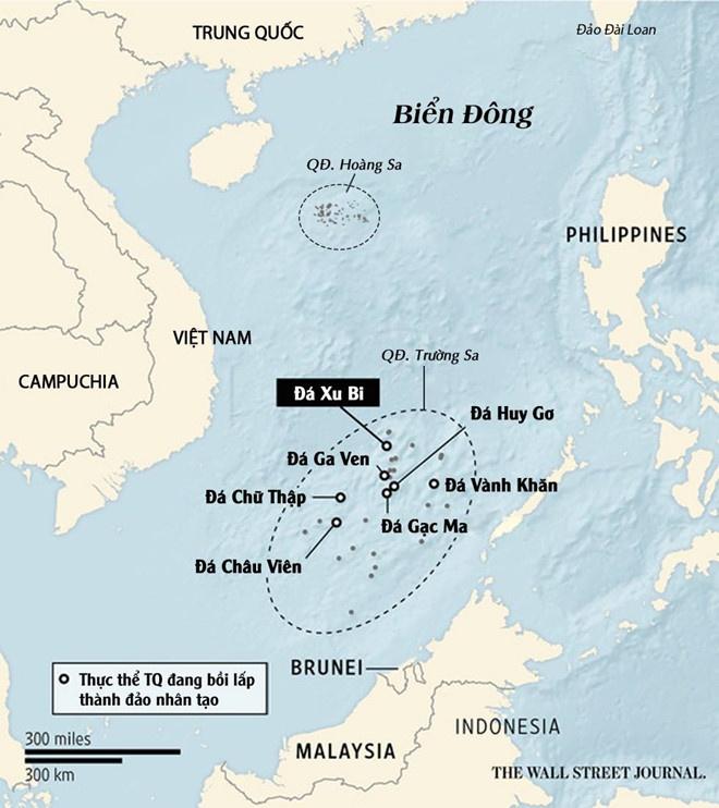 CSIS: Trung Quoc xay trung tam lien lac o Da Chu Thap hinh anh 2