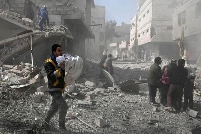 2 ngay, 250 nguoi chet o Syria, UNICEF 'khong con gi de noi' hinh anh 2