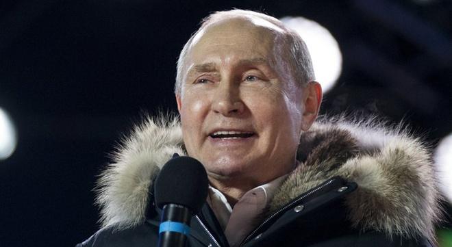 Thang ap dao, Putin lan thu 4 dac cu tong thong Nga hinh anh