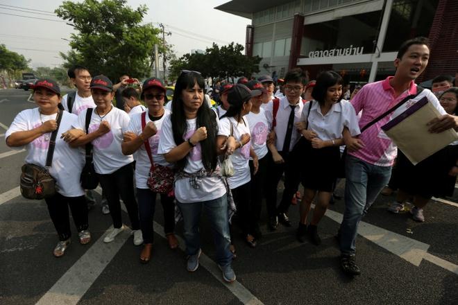 Thai Lan: Dang cua ty phu tre thach thuc chinh quyen quan su hinh anh 2
