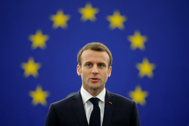 Macron: Chau Au dang 'noi chien' ve y thuc he hinh anh