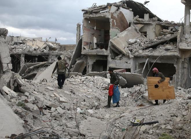 Dieu tra vien da den noi nghi bi tan cong hoa hoc Syria hinh anh
