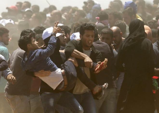 My mo su quan o Jerusalem, Israel ban chet 52 nguoi bieu tinh hinh anh