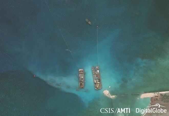 CSIS: Philippines xay lai duong bang o dao Thi Tu hinh anh