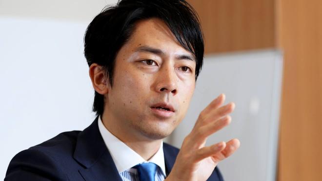 Con trai Koizumi noi len la ung vien thay the Thu tuong Abe hinh anh