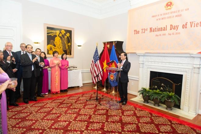 DSQ Viet Nam to chuc ky niem quoc khanh tai Washington D.C. hinh anh 1