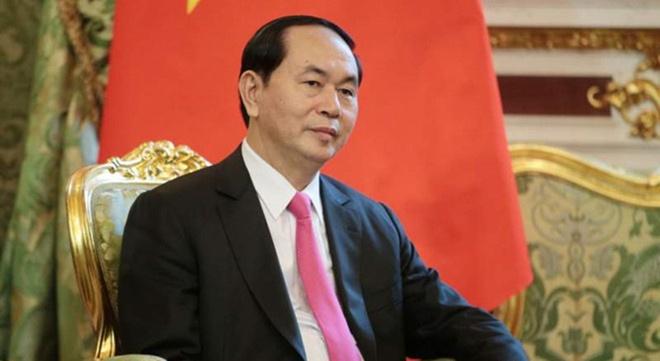 Bao chi quoc te dua tin Chu tich nuoc Tran Dai Quang tu tran hinh anh