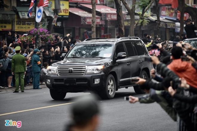 Doan xe ong Kim Jong Un ve toi khach san Melia hinh anh 27