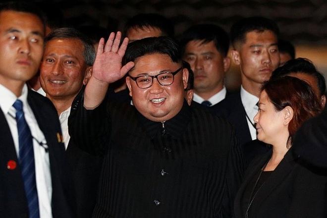 Kim Jong Un tai Ha Noi anh 24