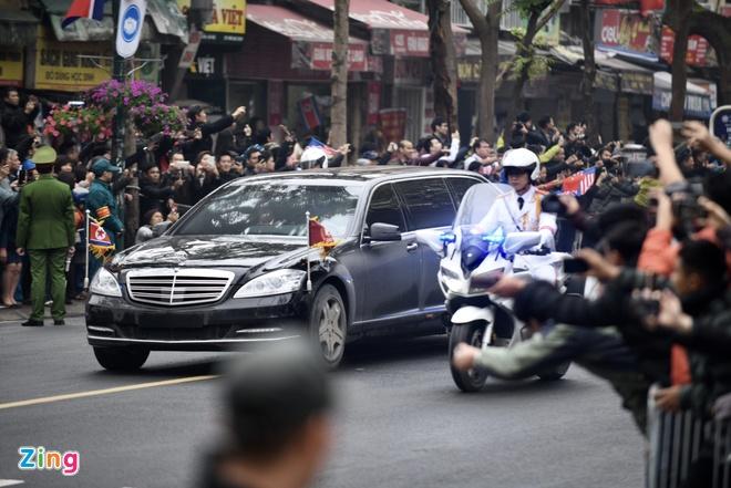 Doan xe ong Kim Jong Un ve toi khach san Melia hinh anh 28