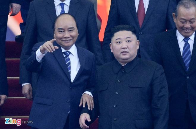 Kim Jong Un Viet Nam anh 2