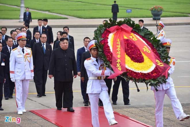Kim Jong Un Viet Nam anh 1