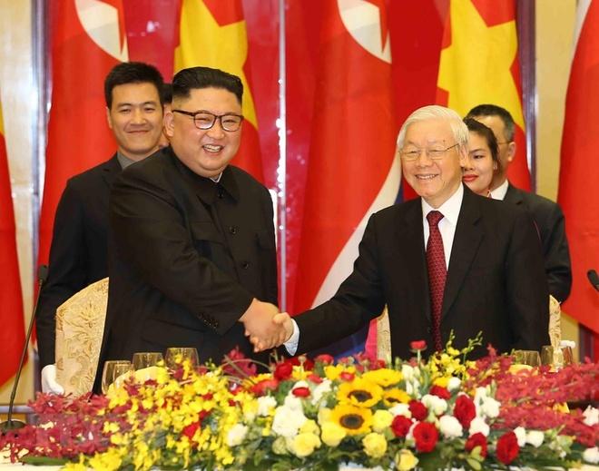 Kim Jong Un Viet Nam anh 5