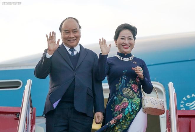 Thu tuong Nguyen Xuan Phuc den Oslo, bat dau tham chinh thuc Na Uy hinh anh 1