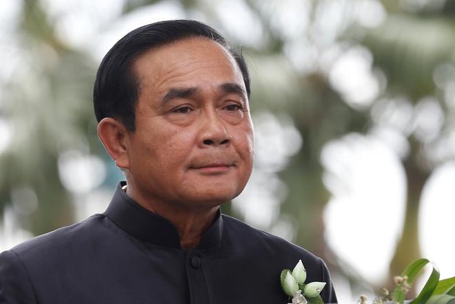 Dang than quan doi Thai du ghe de Thu tuong Prayuth tiep tuc nam quyen hinh anh 1