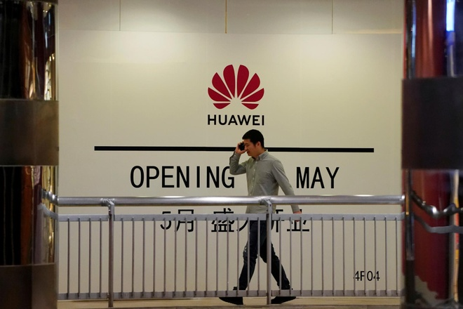 Huawei hop tac chinh phu Trung Quoc anh 1