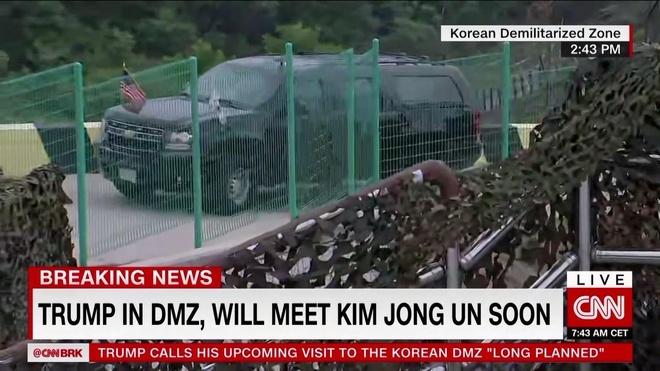 Tong thong Trump den DMZ anh 28