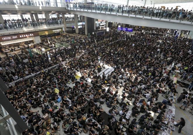 bieu tinh Hong Kong anh 1