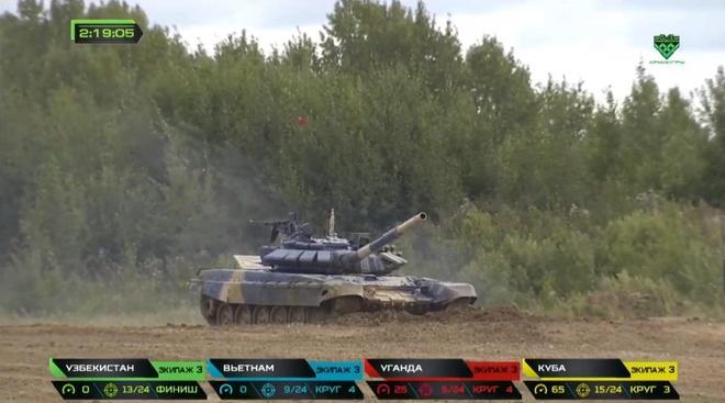 Doi xe tang Viet Nam xuat sac gianh huy chuong bac tai Tank Biathlon hinh anh 23