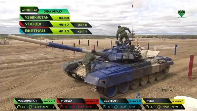 Doi xe tang Viet Nam xuat sac gianh huy chuong bac tai Tank Biathlon hinh anh 12