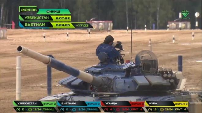 Doi xe tang Viet Nam xuat sac gianh huy chuong bac tai Tank Biathlon hinh anh 27