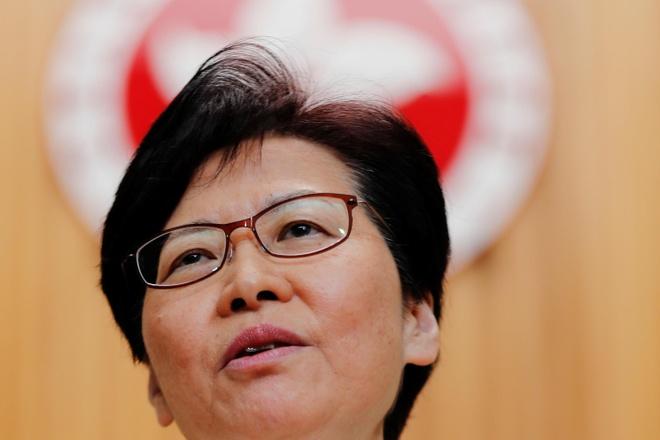 Lanh dao Hong Kong: Toi rut du luat chu khong phai Bac Kinh hinh anh 1