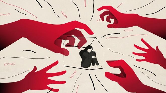 Vì dịch, nhiều phụ nữ đang kẹt trong nhà cùng với kẻ xâm hại mình