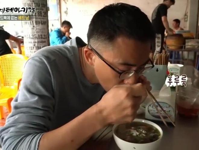Banh da cua Hai Phong xuat hien tren song truyen hinh Han Quoc hinh anh