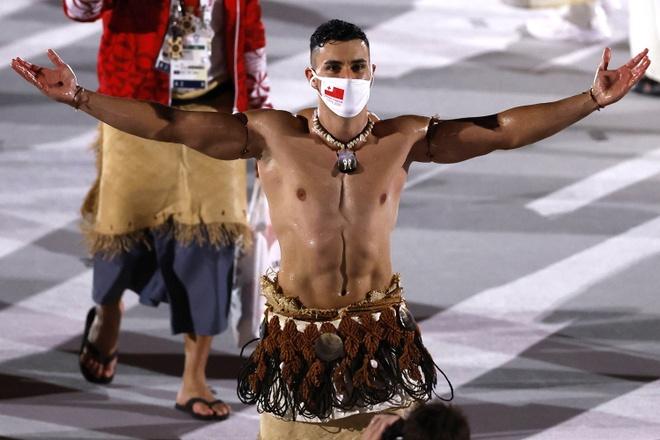 Trang phục truyền thống gây chú ý tại lễ khai mạc Olympic