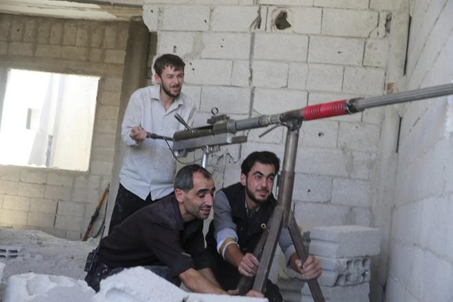 Vu khi tho so cua quan noi day Syria hinh anh 13