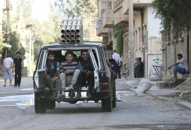 Vu khi tho so cua quan noi day Syria hinh anh 18