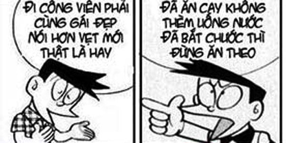 Doremon che: Ban than hinh anh