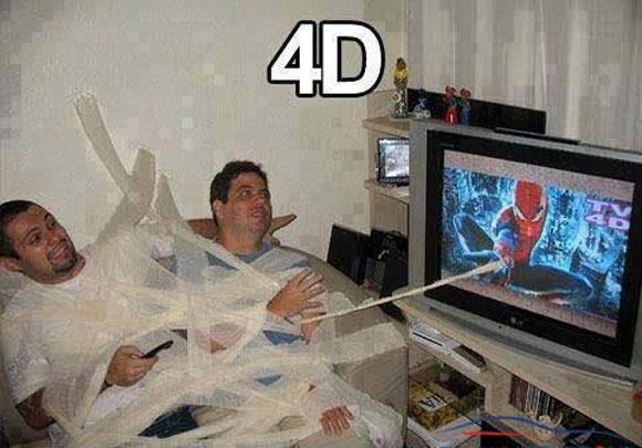 Anh vui: Tivi 4D hinh anh