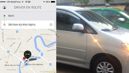 Taxi Uber: Nguoi dan van di, nha nuoc tim cach quan hinh anh