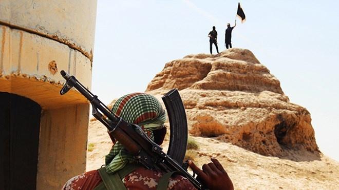 Cac tay sung IS ban ha mot may bay Syria, bat song phi cong hinh anh