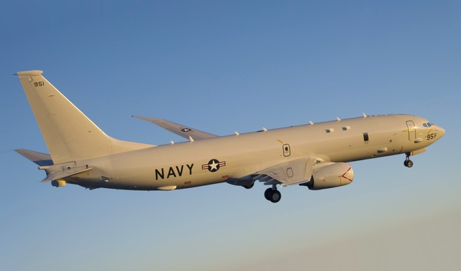 Nhung lan doi dau tren khong giua My va Trung Quoc hinh anh 5 Một máy bay P-8A Poseidon của Mỹ. Ảnh: Flight Journal