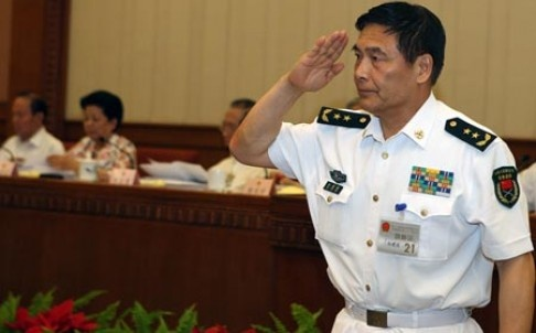 Do doc TQ se doi dau truc tiep Bo truong Quoc phong My hinh anh 1 Đô đốc Tôn Kiến Quốc sẽ bảo vệ những hoạt động bồi đắp đất trái phép của Trung Quốc tại Đối thoại Shangri-La. Ảnh: SCMP