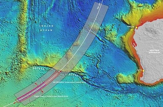 Hanh trinh troi dat cua vat the nghi la manh vo MH370 hinh anh
