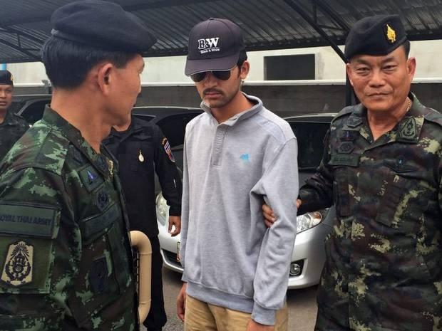 Thai Lan tim thay van tay nghi pham tren vat chung che bom hinh anh
