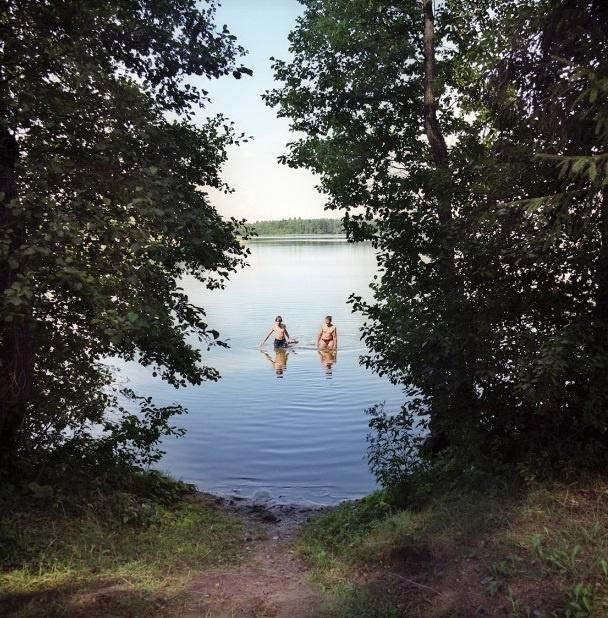 Nhung duong bien gioi ai cung co the vuot qua o chau Au hinh anh 9 Hồ Balandis là biên giới tự nhiên giữa Ba Lan và Lithuania.