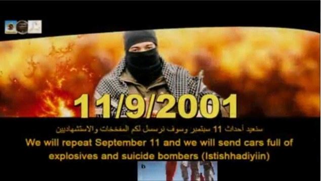 IS tung video doa gay ra vu khung bo 11/9 thu hai hinh anh