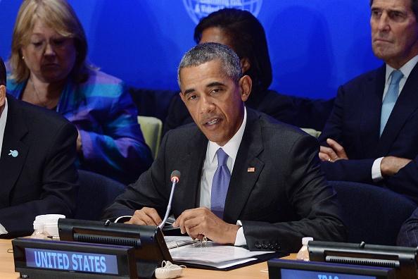 Tong thong Obama: Syria can lanh dao moi de danh bai IS hinh anh