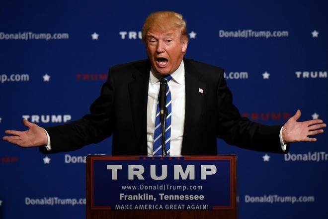 Ty phu Donald Trump: Tham sat it dam mau neu thay co co sung hinh anh 1 Tỷ phú Mỹ Donald Trump. Ảnh: NYPost