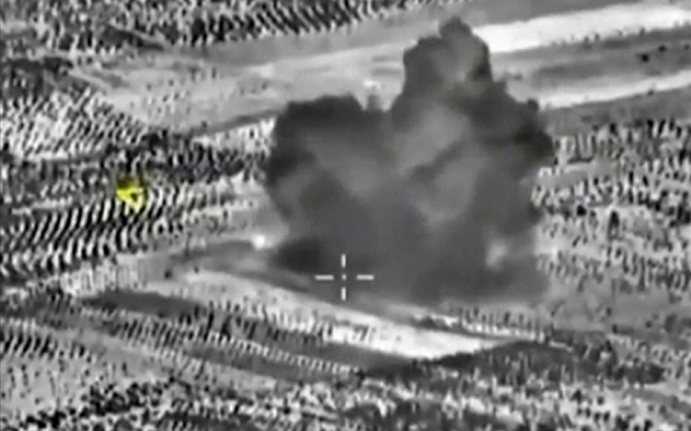 Tong thu ky NATO: Nga dua bo binh vao Syria hinh anh