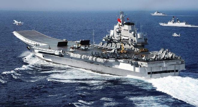 Liêu Ninh hiện là tàu sân bay duy nhất của Trung Quốc. Ảnh: PLAN