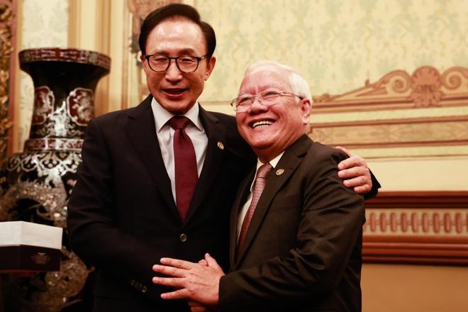 Cuu tong thong Han Quoc: Toi tre hon do uong nhieu ca phe VN hinh anh
