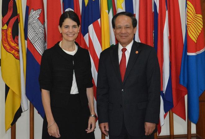 My - ASEAN se co cuoc hop lich su ve Bien Dong hinh anh 1
