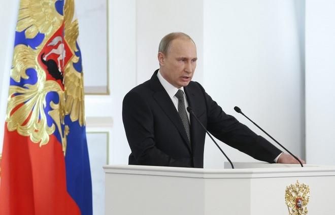 Putin se noi ve chong khung bo trong thong diep lien bang hinh anh 1