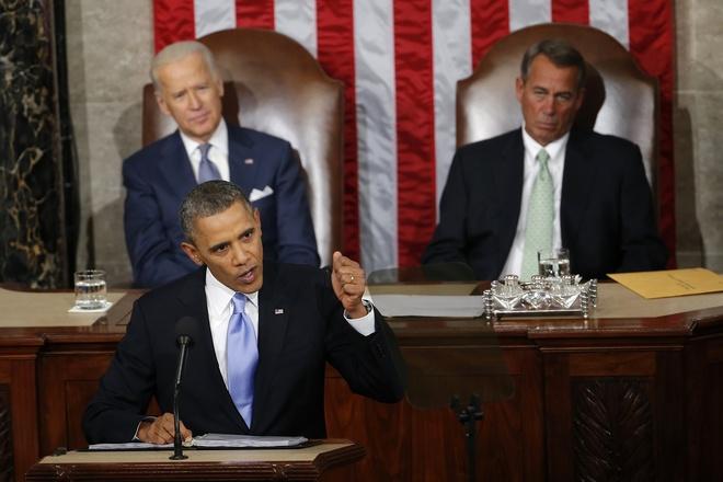 Ong Obama se noi gi o Thong diep Lien bang cuoi cung? hinh anh 1